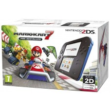 Nintendo 2DS Black & Blue+ Mario Kart 7