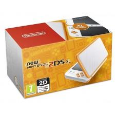 New Nintendo 2DS XL белый + оранжевый