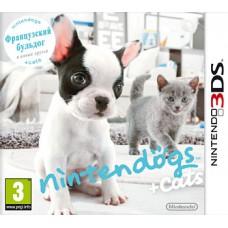 Nintendo Dogs + Cats Французский бульдог и новые друзья русская версия для 3DS
