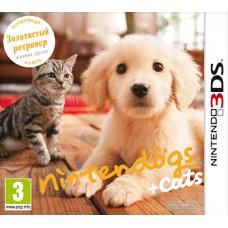 Nintendo Dogs + Cats Голден-Ретривер и новые друзья русская версия для 3DS