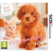 Nintendo Dogs + Cats Карликовый пудель и новые друзья русская версия для 3DS