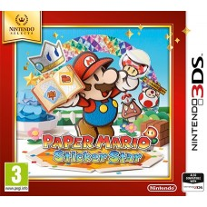 Paper Mario: Sticker Star для Nintendo 3DS