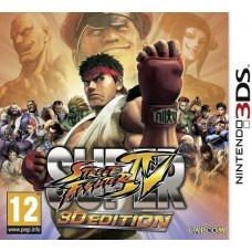 Super Street Fighter IV русская документация для 3DS