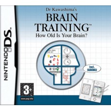 Dr. Kawashima's Brain Training. How Old Is Your Brain? для DS