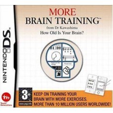 More Brain Training from Dr Kawashima. How Old Is Your Brain? для DS