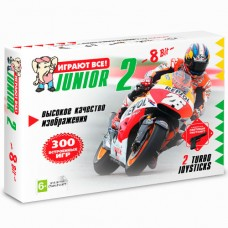 Игровая приставка 8-bit Junior 2 Classic 300 игр