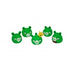 Angry Birds. Набор фигурок 5 штук, свинки