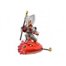 Naruto. Аниме фигурка Jiraiya на лягушке