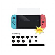Защитное стекло и набор заглушек Dust-Proof Kit для Nintendo Switch