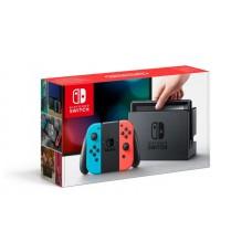 Nintendo Switch неоновый красный / неоновый синий