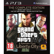 Grand Theft Auto IV. Complete Edition для PS3