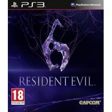 Resident Evil 6 русские субтитры для PS3