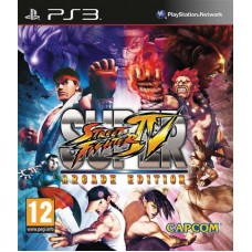 Super Street Fighter IV Arcade Edition для PS3