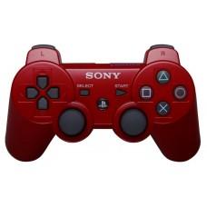 Джойстик беспроводной для PS3, красный