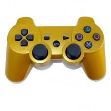 Джойстик беспроводной для PS3, золотой