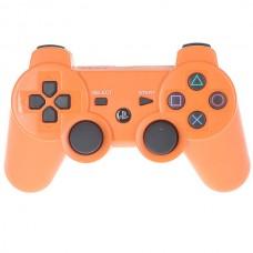 Джойстик беспроводной для PS3, оранжевый