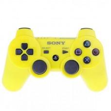 Джойстик беспроводной для PS3, желтый