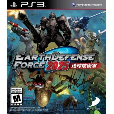 Earth Defense Force 2025 для PS3