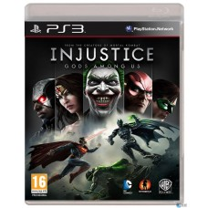 Игра для Playstation 3 Injustice: Gods Among Us русские субтитры