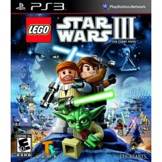 LEGO Star Wars III: the Clone Wars для PS3