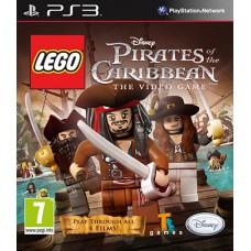 LEGO Пираты Карибского моря русская версия для PS3