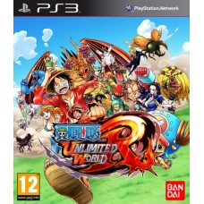 Игра для Playstation 3 One Piece Unlimited World Red