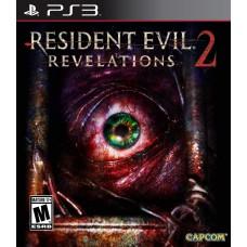 Resident Evil Revelations 2 русские субтитры для PS3