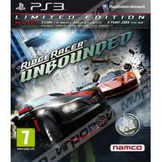 Ridge Racer Unbounded Ограниченное издание для PS3