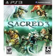 Sacred 3 русская документация для PS3