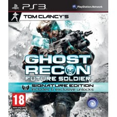 Tom Clancy's Ghost Recon Future Soldier. Signature Edition русская версия для PS3