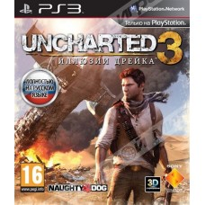 Uncharted 3. Иллюзии Дрейка GOTY Edition русская версия для PS3