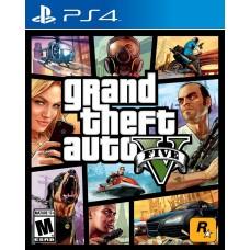Игра для PlayStation 4 Grand Theft Auto V русские субтитры