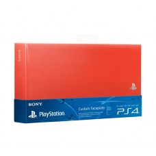Крышка отсека HDD неон оранжевая для PS4