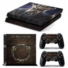 """Наклейка виниловая """"The Elder Scrolls"""" для PS4"""