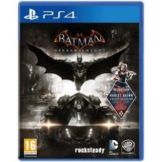 Batman: Рыцарь Аркхема русские субтитры для PS4