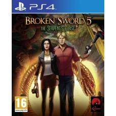Игра для Playstation 4  Broken Sword 5. The Serpent's Curse русские субтитры
