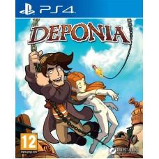 Deponia русские субтитры для PS4