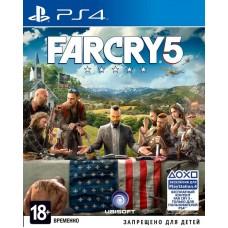 Far Cry 5 русская версия для PS4