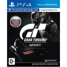 Gran Turismo Sport Day One Edition русская версия для PS4