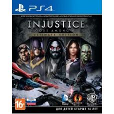 Injustice: Gods Among Us. Ultimate Edition русские субтитры для PS4