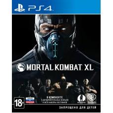 Игра для PlayStation 4 Mortal Kombat XL русские субтитры