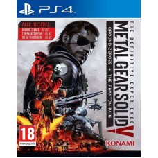 Metal Gear Solid V: The Definitive Experience русские субтитры для PS4