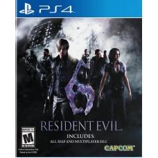 Resident Evil 6 русские субтитры для PS4