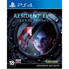 Resident Evil Revelations русские субтитры для PS4