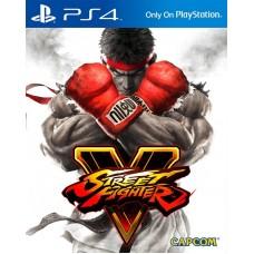 Игра для Playstation 4 Street Fighter V русские субтитры