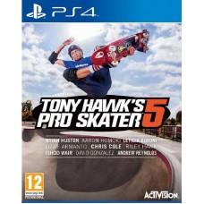 Игра для Playstation 4 Tony Hawk's Pro Skater 5