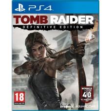 Tomb Raider: Definitive Edition русская версия PS4