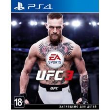 Игра для Playstation 4 UFC 3 русские субтитры
