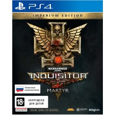 Игра для Playstation 4  Warhammer 40,000: Inquisitor - Martyr русская версия