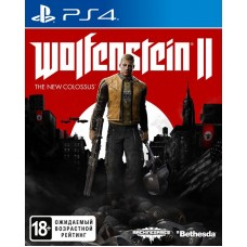 Wolfenstein II: The New Colossus русская версия для PS4